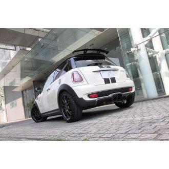 3Ddesign carbon diffuser for Mini Cooper S prefacelift