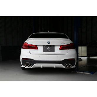 3DDesign GFK rear diffuser for BMW G30 with M-Tech