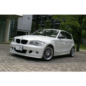3Ddesign front lip for BMW 1 Series E87 with M-Tech