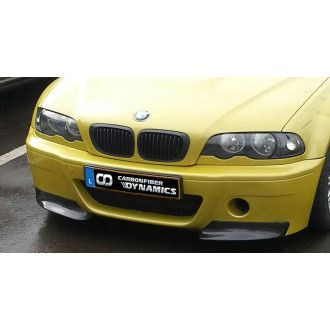 Scope carbon front splitter for BMW 3 Series E46 M3 CSL