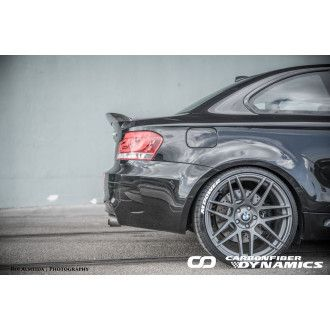 Boca carbon rear spoiler Big style for BMW 1 E82