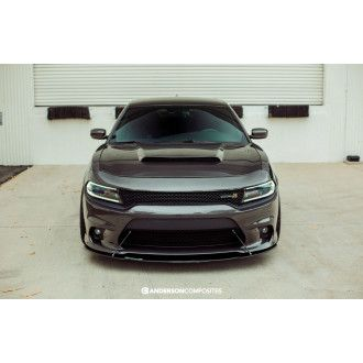 Anderson Composites Carbon Fiber Hood for DODGE CHARGER 2015-2018 Style TYPE-DM