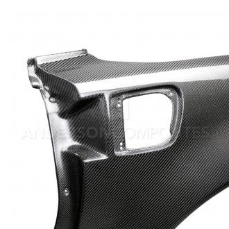 Anderson Composites Carbon Fiber Fenders for CHEVROLET CORVETTE C6 2005-2013 Style Type-ZR1