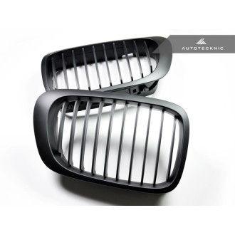 Autotecknic Stealth Black front grill for BMW 3er E46 1998-2001 prefacelift