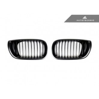 Autotecknic Stealth Black front grill for BMW 3er E46 1998-2001 LCI (Facelift)