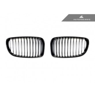 Autotecknic Glazing Black front grill for BMW 1er E82