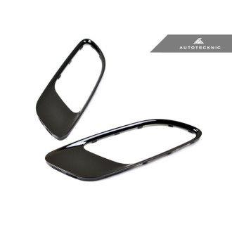 Autotecknic Glazing Black hodd-vents for BMW 3er E90|E92|E93 M3