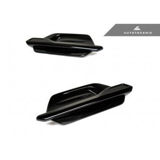 Autotecknic Glazing Black fender vents for BMW 2er F87 M2