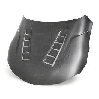 Seibon Dry-Carbon Hood for TOYOTA SUPRA 2020 Style TS