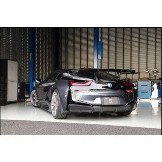 3DDesign carbon diffuser for BMW i8