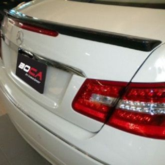 Boca carbon rear spoiler (lip) Mercedes Benz C207 for