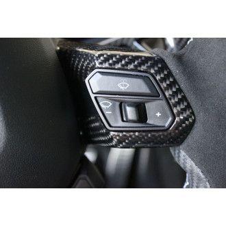 Seiler Performance Carbon Abdeckblende Lenkrad 4-teilig für Lamborghini Huracan
