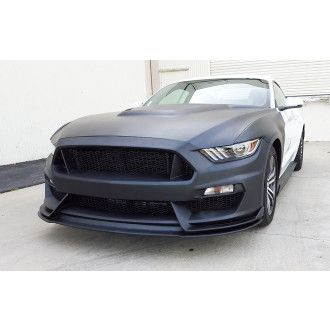 Anderson Composites Type-GR (GT350 Style) fiberglass front bumper for 2015-2017 Ford Mustang
