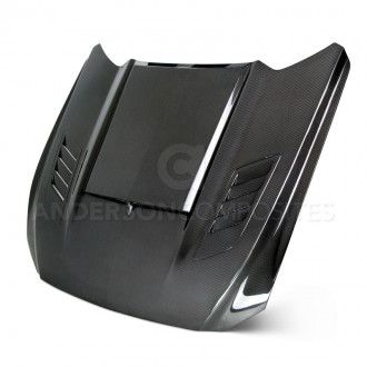 Anderson Composites carbon hood for Ford Mustang - Ramair