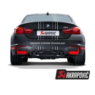 Akrapovic rear carbon fiber diffuser for M4 (F82, F83)