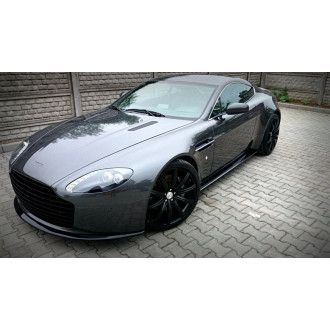 Maxton Design GFK Frontlippe für Aston Martin V8 Vantage Carbon Look