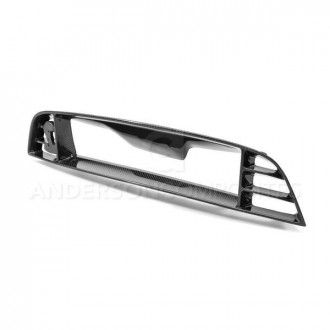 Anderson Composites Carbon fiber front lower grille for 2010-2014 Ford Mustang GT500 and 2013-2014 Mustang GT/V6