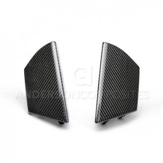 Anderson Composites Carbon fiber front upper grill inserts for 2015-2016 Ford Mustang GT350