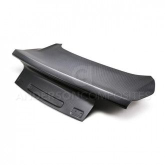 Anderson Composites Type-OE DRY CARBON decklid for 2015-2019 Ford Mustang ..*ALL DRY CARBON PRODUCTS ARE MATTE FINISH. *OFF ROAD USE ONLY.