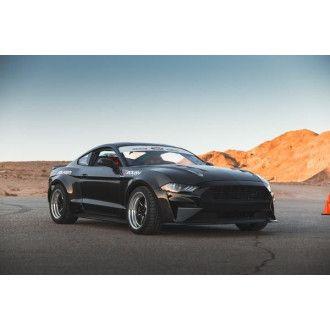 Anderson Composites Carbon Kotflügelerweiterungen 10-teilig für Ford Mustang 2018-2019 TYPE-JTP