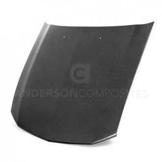 Anderson Composites Type-OE carbon fiber hood for 2005-2009 Ford Mustang