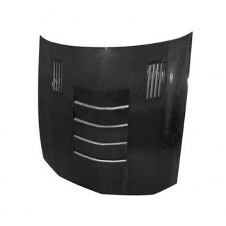 Anderson Composites Type-SSII carbon fiber hood for 2005-2009 Ford Mustang