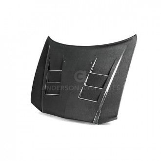 Anderson Composites Type-TS carbon fiber hood for 2011-2013 Dodge Charger