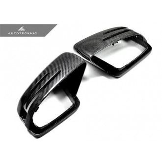 AutoTecknic Carbon Fiber Full Replacement Mirror Covers - Mercedes-Benz G /GL /M /R Class