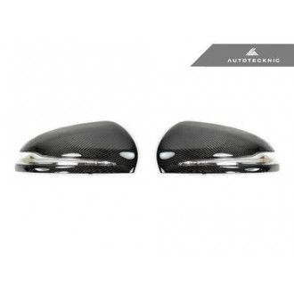 AutoTecknic Replacement Carbon Fiber Mirror Covers - Mercedes-Benz W205 /W222