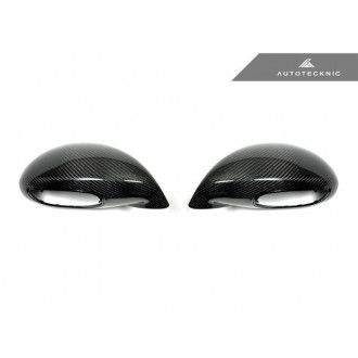 AutoTecknic Replacement Carbon Fiber Mirror Covers - Porsche 991 Turbo | GT3 | GT4
