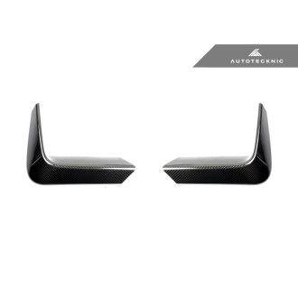 AutoTecknic Carbon Fiber Rear Bumper Trim - F80 M3   F82/F83 M4
