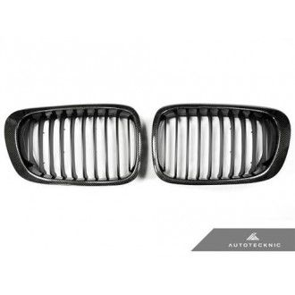 AutoTecknic Carbon Fiber Front Grille - E46 Coupe Pre-Facelift