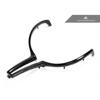 AutoTecknic Carbon Fiber Steering Wheel Trim - F80 M3 | F82 M4 | F10 M5 LCI | F06/ F12/ F13 M6 (1 lbs)