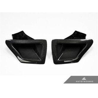 AutoTecknic Carbon Fiber Dual Air Duct - Nissan 370Z