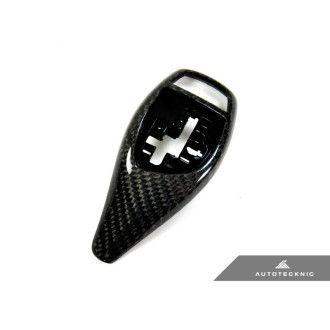 AutoTecknic Carbon Fiber Gear Selector Cover - F15 X5 | F16 X6 (Sport Automatic 61319346827)