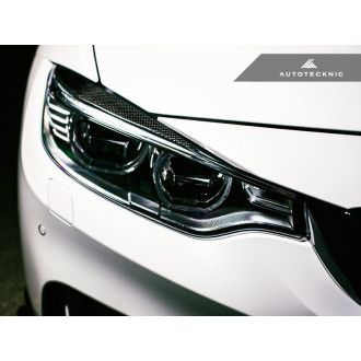 AutoTecknic Carbon Headlight Covers - F32 4-Series | F80 M3 | F82 M4