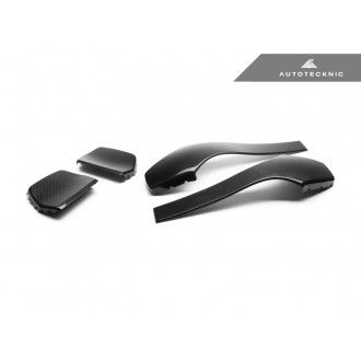 AutoTecknic Dry Carbon Fiber Seat Back Covers - F80 M3 | F82 M4