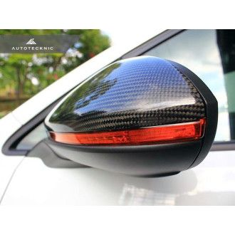 AutoTecknic Carbon Fiber Replacement Mirror Covers - Volkswagen Golf/ Golf R/ GTI MK7
