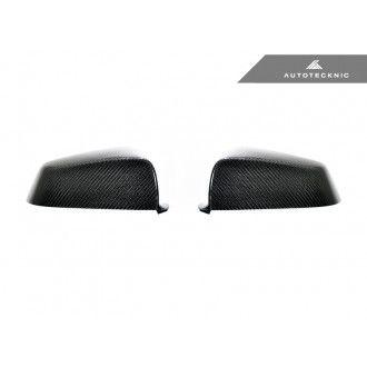 AutoTecknic Carbon Fiber Replacement Mirror Covers - BMW F07/ F10/ F11 5 Series LCI | F06/ F12/ F13 6 Series LCI | F01/ F02 7 Series LCI