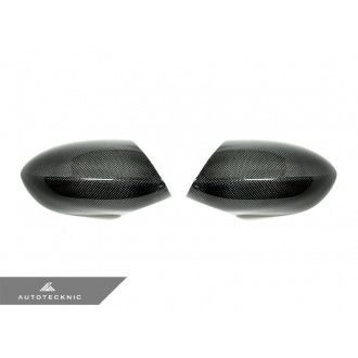 AutoTecknic Carbon Fiber Replacement Mirror Covers - E90/ E92/ E93 M3 and E82 1M (2 lbs)