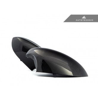 Autotecknic Dry carbon replacement mirror caps for BMW E9X M3 and E82 1M Version II