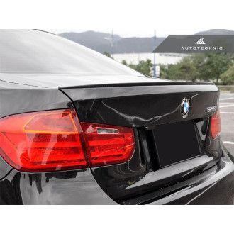 AutoTecknic Carbon Fiber Trunk Lip Spoiler - BMW F30 3 Series | F80 M3