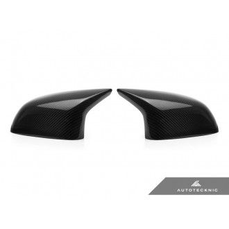 AutoTecknic Carbon Fiber Replacement Mirror Covers - F85 X5M