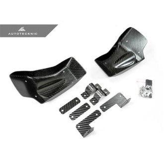 AutoTecknic Dry Carbon Fiber Brake Cooling Duct - Nissan R35 GTR