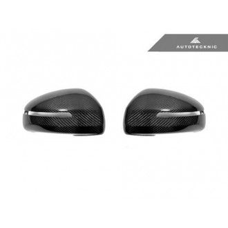 AutoTecknic Replacement Carbon mirror covers for Audi 8J MK2 TT/TTS 2007-2014 | R8 2007-2012
