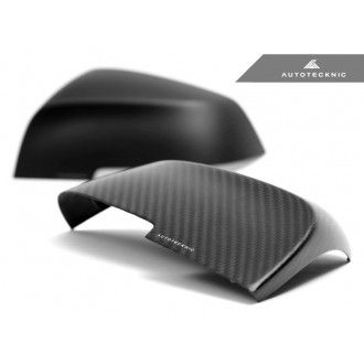 AutoTecknic Replacement Carbon Fiber Mirror Covers - F87 M2
