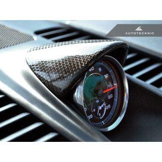 AutoTecknic Porsche Carbon Fiber Chrono Cover