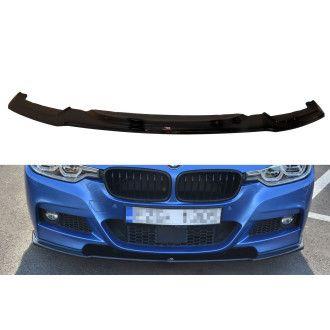 Maxton Design ABS Frontlippe für BMW 3er F30|F80 M3 M-Paket Limo schwarz hochglanz