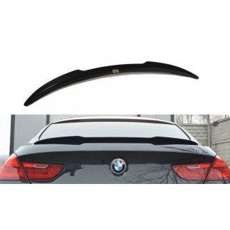 Maxton Design ABS Spoiler Aufsatz für BMW 6er F06 F12 F13 M6 M-Paket Coupe schwarz matt