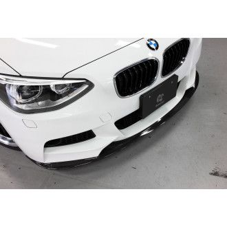 3Ddesign carbon front lip for BMW 1 Series F20 with M-Tech